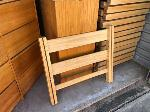 Lot: 02 - (Approx 180-183) Bed Frames & (2) Dorm Style Dressers