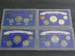 Lot: 5205 - (4) AMERICAN COLLECTION COIN SETS