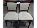 Lot: 02-20430 - (2) Chairs