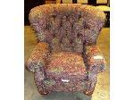 Lot: 02-20436 - Fabric Chair