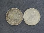 Lot: 5209 - 1921 MORGAN & 1922 PEACE DOLLAR