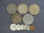Lot: 5240 - MORGAN, PEACE & EISENHOWER DOLLARS & FOREIGN