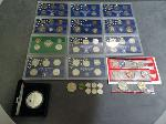 Lot: 5242 - PROOF SETS, DIMES & FOREIGN COINS