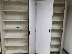Lot: 8&9 - (4) WOODEN CABINETS
