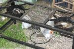 Lot: 06 - Double Fryer Cart