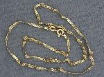 Lot: 5262 - 14K NECKLACE