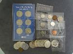 Lot: 5267 - HALVES, QUARTERS, DIMES, NICKELS, PENNIES & FOREIGN