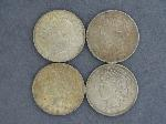 Lot: 5270 - (4) 1922-1923 PEACE DOLLARS