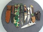 Lot: 5302 - (6) ASSORTED KNIVES