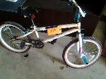 Lot: 103&104 - Bicycle, Rug, Shelf, Cabinet & Blinds