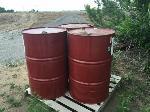 Lot: 90 - (5) Empty Metal Barrels