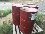 Lot: 91 - (5) Empty Metal Barrels