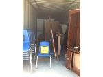 Lot: 18.WL - (15) Plastic Chairs, Bookshelf with Circulation Desk & More