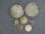 Lot: 5323 - 1898 MORGAN, 1923 PEACE DOLLARS, DIMES & V NICKEL