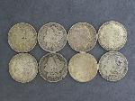 Lot: 5333 - (8) MORGAN DOLLARS