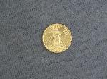 Lot: 5346 - 2002 U.S. EAGLE TEN DOLLAR 1/4 OZ. GOLD COIN