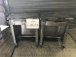 Lot: 1833 - (2) Rolling Tables