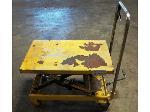 Lot: 02-20546 - Foot Operated Scissor Lift Table
