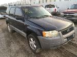 Lot: 12 - 2002 Ford Escape SUV