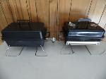 Lot: A7099 - (2) Webber Table Top Grills