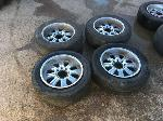 Lot: M1 - Set of 4 Rims and Tires