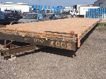 Lot: 51782.FHPD - OVERSIZE HOMEMADE FLATBED TRAILER