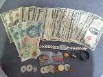Lot: 5489 - APPROX. (66) $2 BILLS, (2) RED SEAL $5 BILLS & FOREIGN
