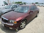 Lot: 02-786602 - 2000 Lincoln LS