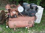 Lot: 163 - Ingersoll-Ran Gasoline Air Compressor- Runs