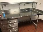 Lot: 29 - Stainless Steel Work Table