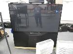 Lot: 12&13 - Rear Projection TV & (2) CD Recording Systems