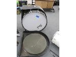 Lot: 36 - Marching Bass Drum