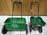 Lot: A7185 - Pair of Scotts Lawn Seeders