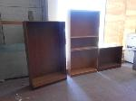 Lot: 15.HC - (3) BOOK SHELVES