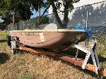 Lot: 10 - 1973 Kingfisher Boat & Trailer