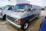 Lot: 7-131632 - 1985 Dodge Ram Wagon Van