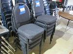 Lot: 110&111 - (18) Upholstered Chairs & End Table