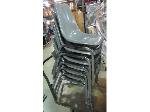 Lot: 55-006 - (8) Stacking Chairs