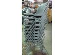 Lot: 55-007 - (9) Stacking Chairs
