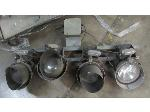 Lot: 55-030 - Outdoor Flood Light Array