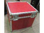 Lot: 55-033 - Red Calzone Road Case - 25x28x26