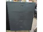 Lot: 55-039 - Hon Lateral file w/ Sliding Shelves