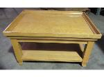 Lot: 55-044 - Blonde Wood Coffee Table - 30X36