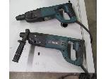 Lot: 55-060 - Pair of Makita Hammer Drills