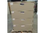 Lot: 55-081 - 4-Drawer Lateral File Cabinet