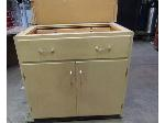 Lot: 55-098 - (2) Sturdy Lab Cabinets w/ Drawer - 35x23x35