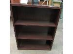 Lot: 55-106 - 4-Shelf Wooden Bookcase - 36x42