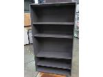 Lot: 55-107 - 4-Shelf Metal Bookcase 36x53x12