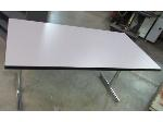 Lot: 55-118 - Folding Table w/ Chrome Legs - 60x30