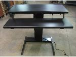 Lot: 55-120 - Electric Adjustable Height Desk Works